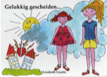 prentenboek over scheiding
